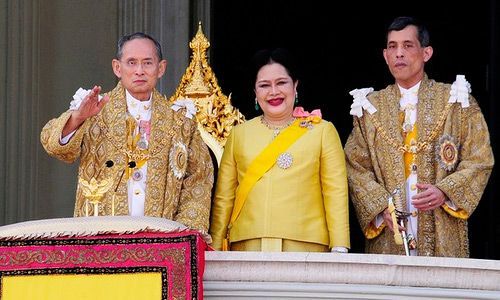 Thai King Bhumibol Adulyade