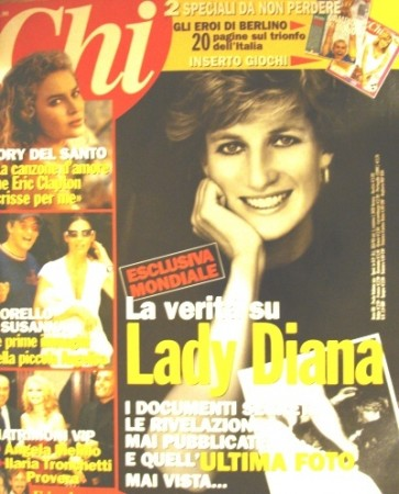 princess diana crash chi. Chi magazine 1997 issue