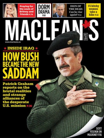 Maclean_Bush_as_Saddam