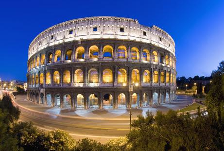 The colosseum, Rom Italy
